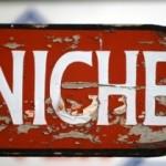 """""""niche"""" red sign"""