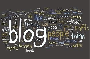 blogging tag cloud