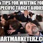 5 Tips for Writing for a Specific Target Audience