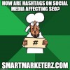 How Are Hashtags on Social Media Affecting SEO?