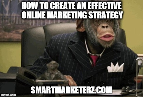 a monkey dressed as general business manager