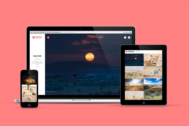 showcase responsive theme